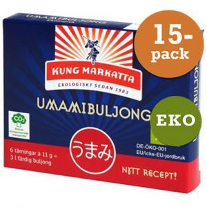 Umamibuljongtärning 15x6st Eko Kung Markatta