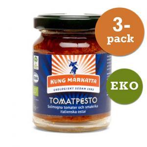 Tomatpesto 3x120g EKO Kung Markatta