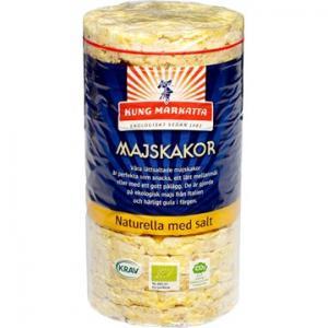 Majskakor Med Salt 12x110g Eko Kung Markatta