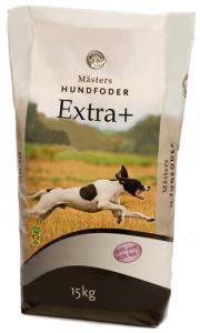 Hundfoder Extra+ 15kg Mästers