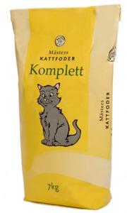 Kattfoder Komplett 7kg Mästers