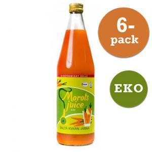 Morotsjuice Eko 6x750ml Saltå Kvarn