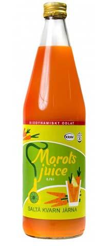 Morotsjuice Eko 2x750ml Saltå Kvarn