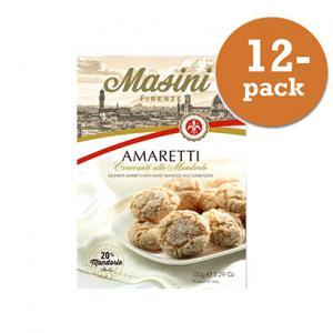 Amaretti Mandel 12x150g Masini