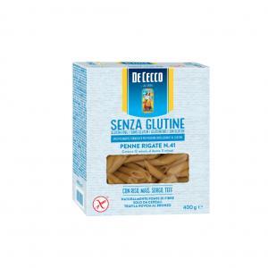 Pasta Penne Rigate Glutenfri 12x400g De Cecco