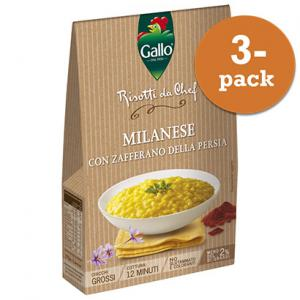 Risotto Pronto 3x175g Saffran Gallo