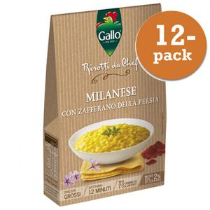 Risotto Pronto 12x175g Saffran Gallo