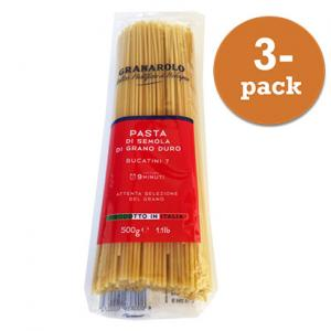 Pasta Bucatini 7 3x500g Granarolo