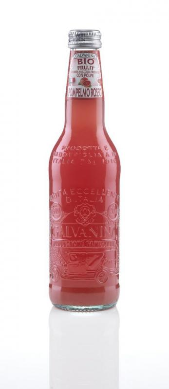 Läsk Röd Grapefrukt Eko 12x355ml La Galvanina