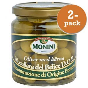 Oliver Nocellara 2x300g DOP Monini