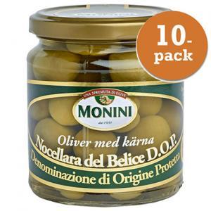 Oliver Nocellara 10x300g DOP Monini