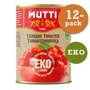 Tomater Tärnade 12x400g KRAV Mutti