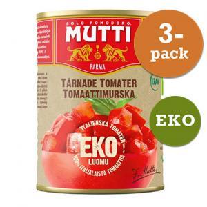 Tomater Tärnade 3x400g KRAV Mutti