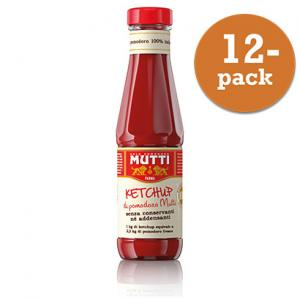 Tomater Ketchup 12x340g Glas Mutti