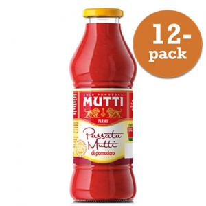 Tomater Passerade 12x400ml Glas Mutti