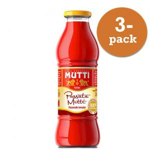 Tomater Passerade 3x700ml Glas Mutti