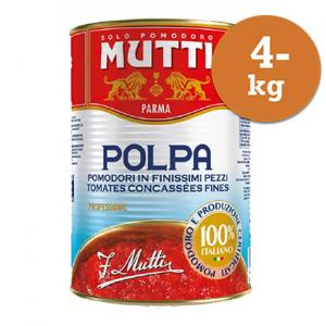Tomater Polpa Finkrossade 1x4,05kg Mutti