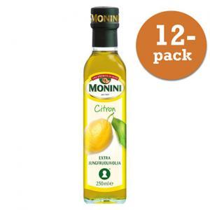 Olivolja Citron 12x250ml Extraljungfru Monini