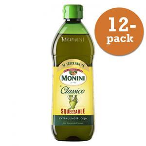 Olivolja Classico Squeeze 12x450ml Extraljungfru Monini