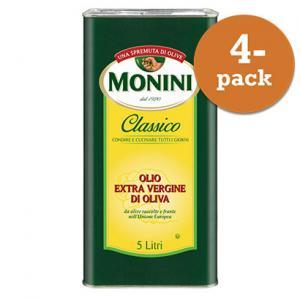 Olivolja Classico 4x5l Extraljungfru Dunk Monini