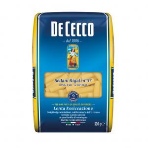 Pasta Sedani Rigati Durum 3x500g De Cecco