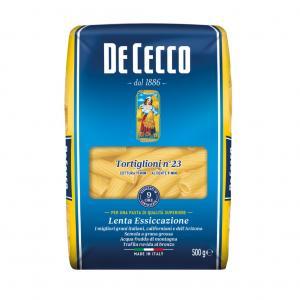 Pasta Tortiglioni Durum 3x500g De Cecco