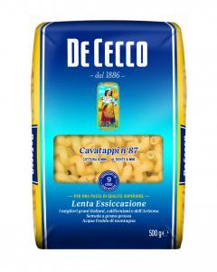 Pasta Cavatappi Durum 3x500g De Cecco