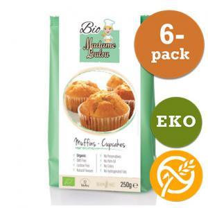 Muffins & Cupcakes Mix EKO 6x250g Madame Loulou