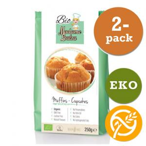 Muffins & Cupcakes Mix EKO 2x250g Madame Loulou