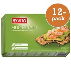 Multigrain Knäckebröd Ryvita 12x250g