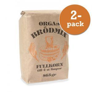 Brödmix Orga Kvarn 2x865g