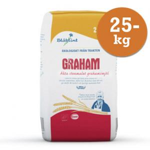 Grahamsmjöl Blåklint Krav 25kg
