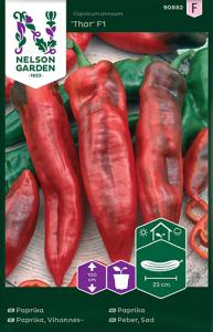 Paprika Premium Frö Nelson Garden