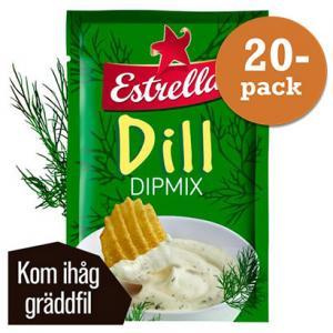 Dill Dipmix 20x20g Estrella