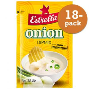 Onion Dipmix 18x22g Estrella