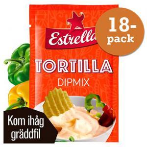 Tortilla Dipmix 18x28g Estrella