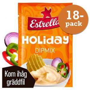 Holiday Dipmix 18x26g Estrella