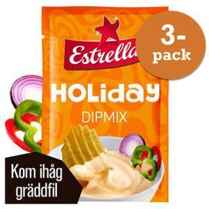 Holiday Dipmix 3x26g Estrella