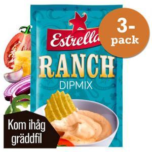 Ranch Dipmix 3x24g Estrella