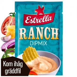 Ranch Dipmix 1x24g Estrella KORT HÅLLBARHET