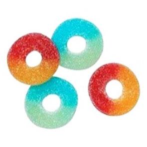 Tutti Frutti Rings 1x1,7kg Fazer Konfektyr