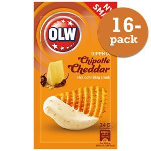 Chipotle Cheddar Dipmix 16x24g OLW