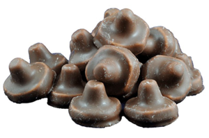 Chokladsvampar 1x1,2kg Franssons Konfektyrer