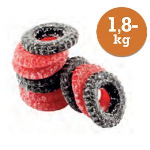 Dragster Jordgubb/Lakrits 1,8kg Act Produkter