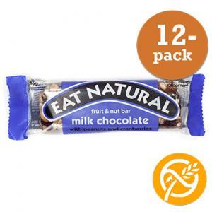 Ljus Choklad Bar GLUTENFRI 12x45g Eat Natural