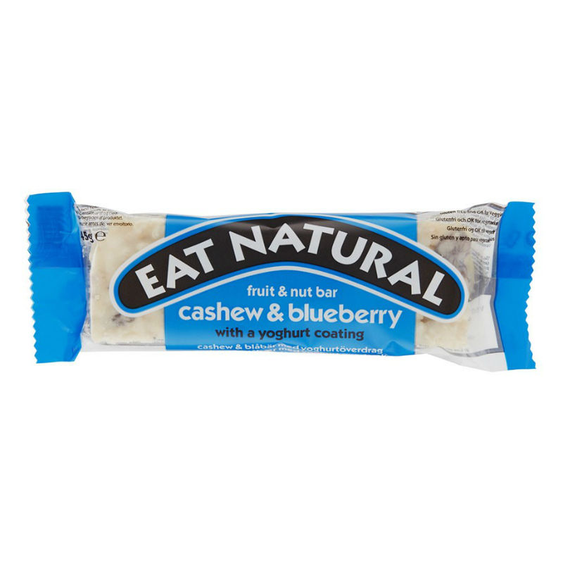 Blåbär & Yoghurt Bar GLUTENFRI 3x45g Eat Natural