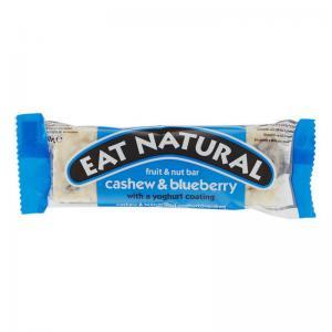 Blåbär & Yoghurt Bar GLUTENFRI 1x45g Eat Natural KORT HÅLLBARHET