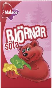 Björnar Söta 20x32g Cloetta