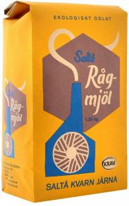 Ekologiskt rågmjöl 1,25kg från Saltå kvarn