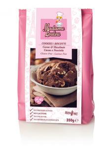 Choklad & Hasselnötskakor 2x350g Madame Loulou